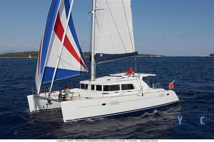 Lagoon 440 for sale in France for €378,000 (£330,845)