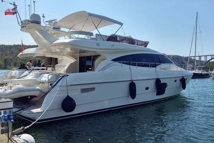 Ferretti Ferretti 592 for sale in Croatia for €710,000 (£607,575)