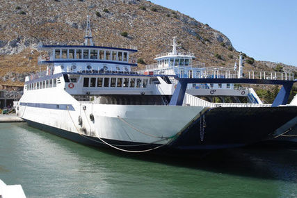 Open Double End Ro/Pax Ferry for sale in Greece for €4,900,000 (£4,313,077)