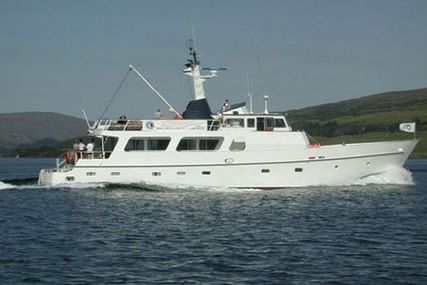 Torpoint 91 Corten Steel World Cruiser for sale in Greece for $450,000 (£322,126)
