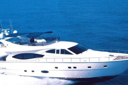 Ferretti 76 for sale in Greece for €1,050,000 (£917,007)