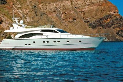 Ferretti 680 for sale in Greece for €780,000 (£681,205)