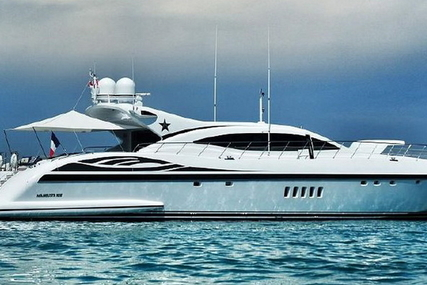 Mangusta 108 for sale in France for €3,790,000 (£3,342,800)