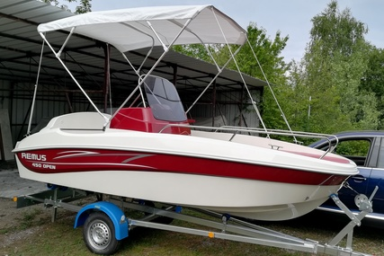 Remus 450 Open for sale in Slovenia for €12,880 (£11,338)
