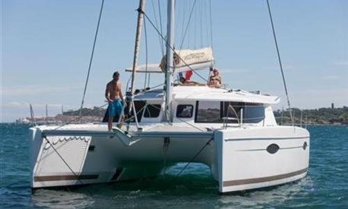 Image of Fountaine Pajot Helia 44 for sale in United Kingdom for €387,500 (£346,075) United Kingdom