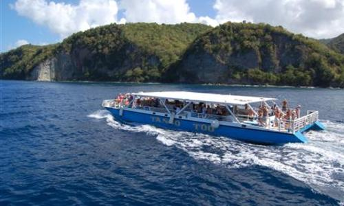 Image of Custom built Day Charter Power Catamaran 85' for sale in Saint Lucia for $480,000 (£369,552) Saint Lucia