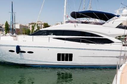 Princess 72 for sale in Greece for €1,499,000 (£1,319,449)