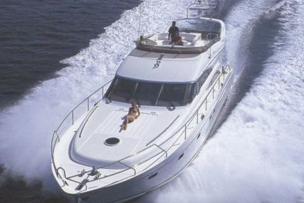 Princess 61 for sale in Spain for €360,000 (£316,350)