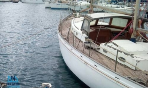 Custom Built 138 Wooden Ketch For Sale In Italy For 29950