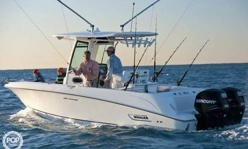 Image of Boston Whaler 250 Outrage for sale in United States of America for $95,600 (£68,051) Plymouth, Massachusetts, United States of America