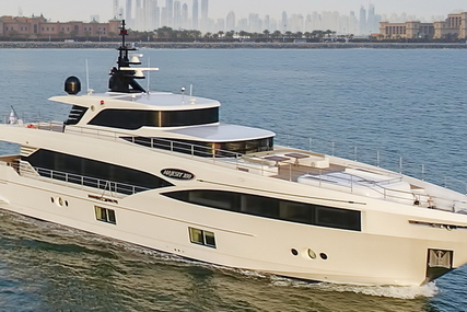 Majesty 100 for sale in France for €5,800,000 (£5,129,883)