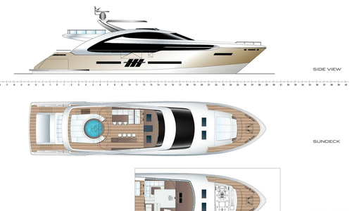 Image of Elegance Yachts 110 for sale in Germany for €8,995,000 (£7,919,110) , , Germany