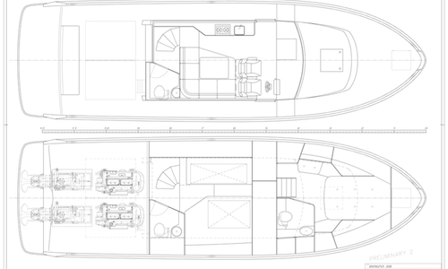 Image of Brizo Yachts Brizo 42 Flybridge for sale in Germany for €744,000 (£654,918) Ostsee Finnland, Ostsee Finnland, Germany