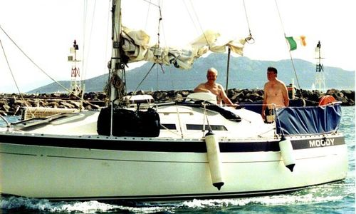 Image of Moody 29 for sale in Turkey for €40,000 (£35,979) Turkey