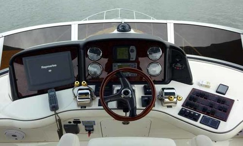 Image of Sea Ray 42 Sedan Bridge for sale in Indonesia for $155,000 (£118,565) jakarta, Indonesia