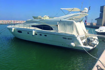 Ferretti 590 for sale in Italy for €535,000 (£458,064)