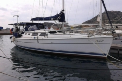 Hunter 44 DS for sale in Spain for €120,000 (£107,185)
