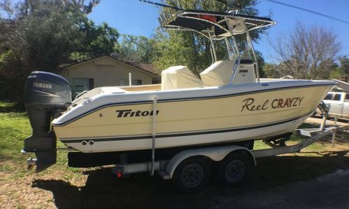 Image of Triton 2486 CC for sale in United States of America for $31,200 (£24,212) Deland, Florida, United States of America
