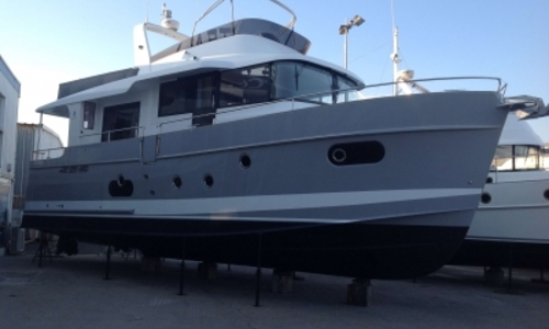 Image of Beneteau Swift Trawler 50 for sale in France for €675,000 (£603,670) LE CAP D'AGDE, France