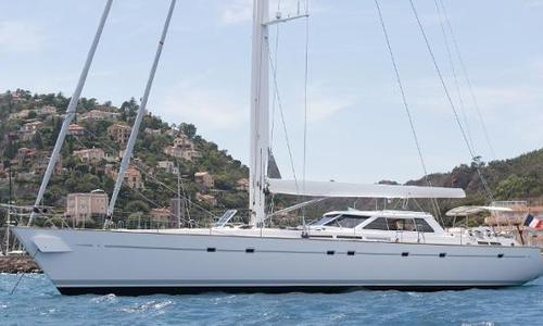 Image of FITZ 84ft Aluminium Cutter Sloop for sale in Italy for €1,890,000 (£1,658,782) Italy