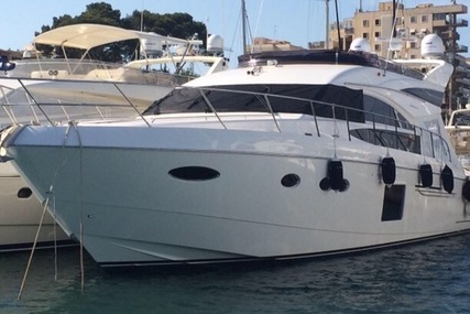Princess 64 for sale in Spain for €1,690,000 (£1,480,275)