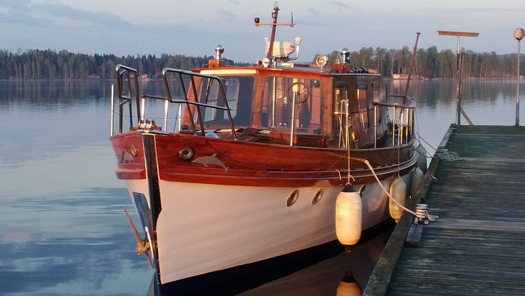 freeman attrill 40ft tsdy for sale in finland for 119 500