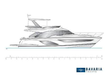 Bavaria Yachts R55 Fly for sale in United Kingdom for €1,248,840 (£1,117,090)