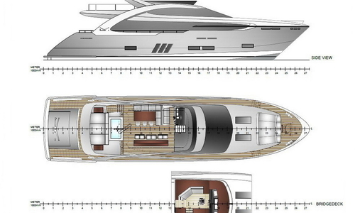 Image of Elegance Yachts 90 for sale in Germany for €5,995,000 (£5,243,593) , , Germany