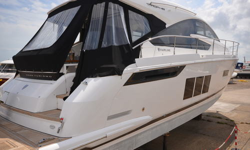 Image of Fairline Targa 48 Gran Turismo for sale in United Kingdom for P.O.A. Boats.co. HQ, Essex Marina, United Kingdom