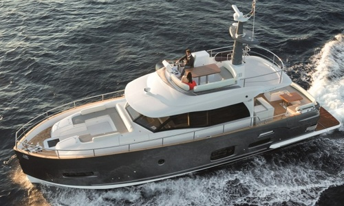 Image of Azimut Yachts Magellano 53 for sale in United Kingdom for £976,166 Soon to be at the Hamble River Boat Yard, United Kingdom