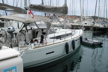 Jeanneau Sun Odyssey 419 for sale in Croatia for €185,000 (£162,363)