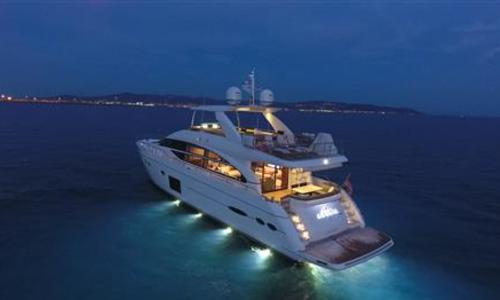 Image of Princess 82 for sale in Italy for €3,100,000 (£2,736,654) Italy