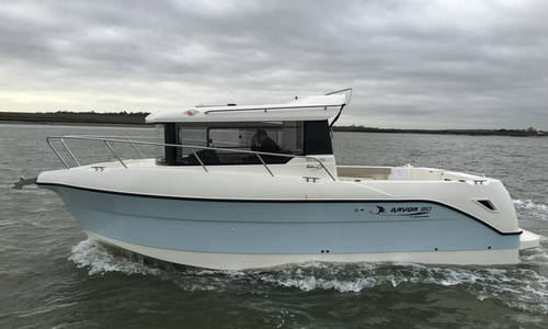 Image of Arvor 810 Pilothouse for sale in United Kingdom for £77,950 Essex Marina, United Kingdom