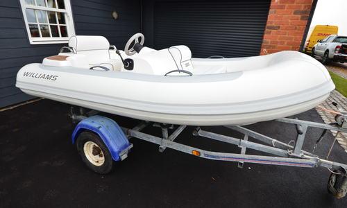 Image of Williams 285 for sale in United Kingdom for £13,950 Boats.co. HQ, Essex Marina, United Kingdom