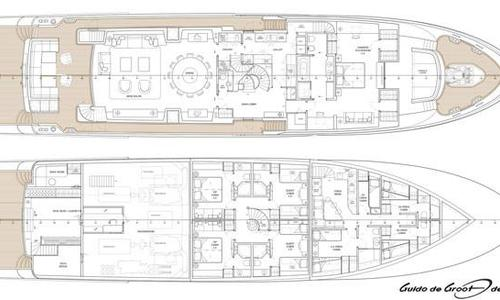 Image of Selene 128 Tri-Deck Motor Yacht for sale in United States of America for $12,750,000 (£9,612,340) Fort Lauderdale, FL, United States of America