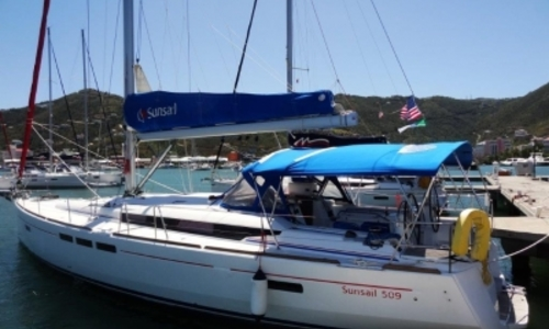 Image of Jeanneau Sun Odyssey 509 for sale in Trinidad and Tobago for $229,000 (£176,402) TORTOLA, Trinidad and Tobago
