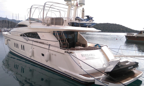 Image of Fairline Squadron 74 for sale in Turkey for €599,950 (£521,773) Kas Marina, Turkey