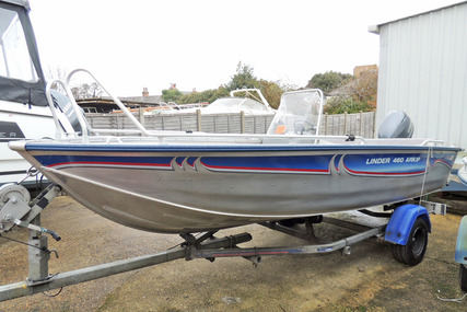 LINDER Arkip 460 - Yamaha F40 and Trailer for sale in United Kingdom for £ 9.995