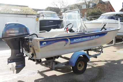 LINDER Sportsman 445 Max - Yamaha F30 for sale in United Kingdom for £ 8.500