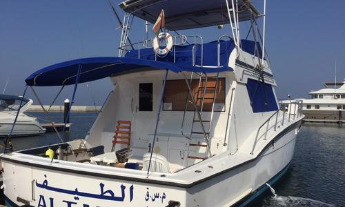 Image of Hatteras 55 Convertible for sale in Oman for $112,000 (£84,739) Oman