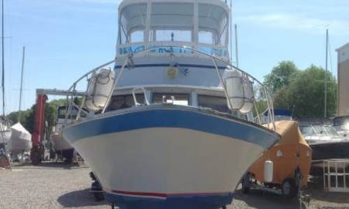 Image of Luhrs Super 320 Marboro Flybridge Sedan for sale in United States of America for $8,800 (£6,320) Deep River, Connecticut, United States of America