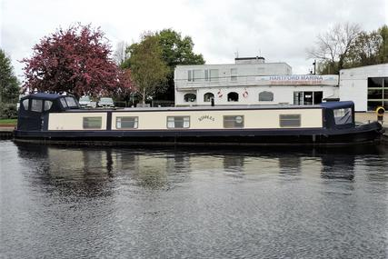 Wide Beam Narrowboat 60 x 10 Aqualine for sale in United Kingdom for £88,000