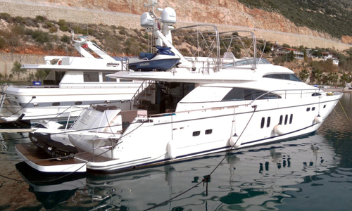 Image of Fairline Squadron 74 for sale in Turkey for €599,950 (£535,832) Kas Marina, Turkey
