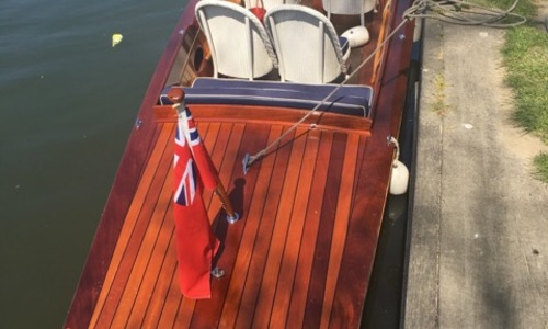 Image of Andrews Slipper Stern Launch The Viceroy for sale in United Kingdom for £27,500 Henley on Thames, United Kingdom