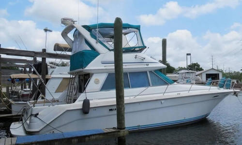 Image of Sea Ray 370 Sedan Bridge for sale in United States of America for $44,000 (£33,673) Lake Charles, Louisiana, United States of America