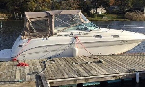Image of Sea Ray 260 Sundancer for sale in United States of America for $19,500 (£15,336) Falmouth, Massachusetts, United States of America
