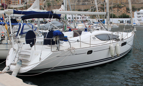 Image of Jeanneau Sun Odyssey 45 DS for sale in Spain for €159,000 (£136,047) ALMERIA (, Spain