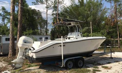 Image of Mako 232 CC for sale in United States of America for $18,500 (£13,947) Naples, Florida, United States of America