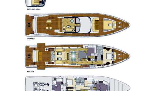 Image of Majesty 100 (Demo) for sale in France for €5,800,000 (£5,076,453) Mittelmeer Südfrankreich, Mittelmeer Südfrankreich, France
