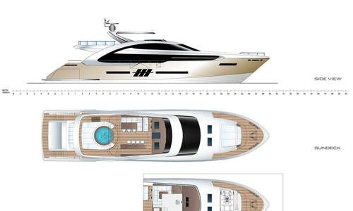 Image of Elegance Yachts 122 for sale in Germany for €11,995,000 (£10,541,811) , , Germany